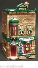 Dept 56 Snow Village ~ The Christmas Shop ~ Mint In Box 50970