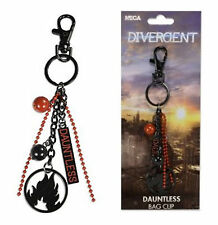 Divergent Movie Dauntless Charm Bag Clip For Backpack Tote Messenger Key Ring
