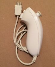Official Nintendo WII Controller Nunchuck White RVL-004 OEM