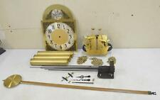 HERSCHEDE Jauch Grandfather Clock Set MOVEMENT DIAL PENDULUM WEIGHTS CHIMES