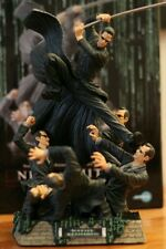 Matrix Reloaded Neo vs Smith Statue Kotobukiya