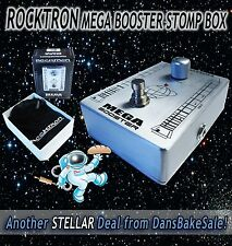 Rocktron Effect Pedal NIB Mega Booster Boutique Series Stomp Box - New in Box!