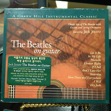 "THE BEATLES ON GUITAR JACK JEZZRO CD ""LET IT BE"" ""HEY JUDE""  ""YESTERDAY"""