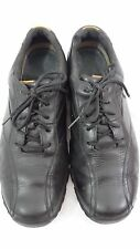 Black Leather Timberland Men's Lace Up Oxford Shoe - Size 11 Medium