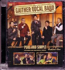 GAITHER VOCAL BAND - Reunion Vol. 1 (DVD, 2013) ONE VOICE COME TO JESUS LOVE OF