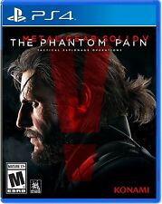 PS4  Metal Gear Solid V 5 The Phantom Pain NEW Sealed REGION FREE