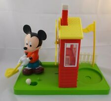 """Mickey Mouse Golf Gumball Dispenser Toy 9.5"""" Tall Carousel"""