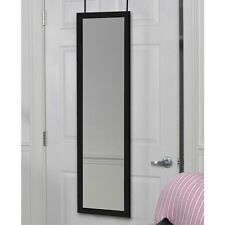 Full Length Door Hanging Wall Mount Black Dressing Mirror