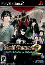 Shin Megami Tensei Devil Summoner 2 Raidou Kuzunoha vs.King Abaddon - BRAND NEW