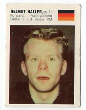 Panini Williams Forlags Swedish card Mexico 1970 #39 Helmut Haller West Germany