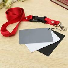 Digital Grey White Black Gray Balance 3 in 1 18% Gray Card Pocket-Size Camera