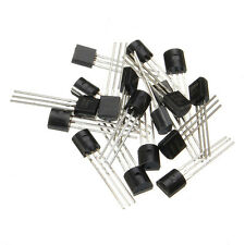 170pcs/Set 17-value Triode Bipolar Transistor TO-92 NPN PNP Assortment Kit