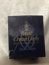 ROYAL CROWN DERBY IMARI PAPERWEIGHT COLLECTION ORIGINAL BOX ONLY SLEEPING KITTEN