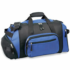 "GP 20"" Lightweight Blue Dual Sport & Travel Carry-On Gym Duffel with Cooler Bag"
