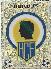 N°N BADGE ESCUDO HERCULES CF CROMO STICKER PANINI LIGA 1997