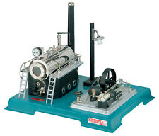 Wilesco D 18 Live Steam Engine Toy - See Video - Shipped from USA