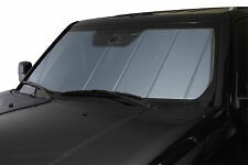 Heat Shield Car Sun Shade Fits 2015 Chevy/GMC 2500/3500HD w/ lane departure blue