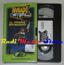 film VHS  MAX STEEL IL PRIMO EPISODIO   CARTONATA    (F6)  no dvd