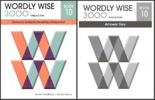 Wordly Wise 3000 Grade 10 SET -- Student and Key NEW  *3rd edition*