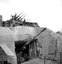 WWII Photo Normandy Bunker D-Day  WW2 / 1004