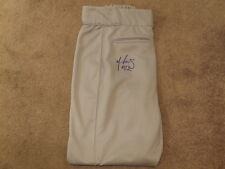 Alfredo Aceves Signed Autographed GAME WORN Pants - w/COA Thunder Red Sox