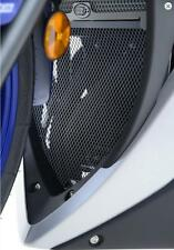 R&G BLACK DOWNPIPE GRILL for YAMAHA YZF-R3, 2014 to 2015