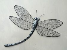 Large Metal Wire Dragonfly Wall Art Decor Home/Conservatory Fence 57cm