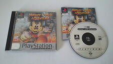 MICKEY'S WILD ADVENTURE - SONY PLAYSTATION - JEU PS1 PSX PLATINUM COMPLET