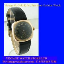 Vintage Rolex Precision WW2 Mint Cushion  Wrist Watch 1943