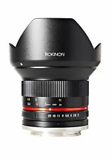 Rokinon 12mm F2.0 Ultra Wide Angle Lens for Canon M Mount Mirrorless