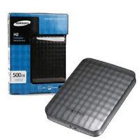 External portable 500GB Samsung USB 3.0 / USB 2.0 Hard drive,