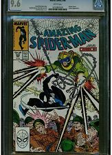 AMAZING SPIDER MAN 299 CGC 9.6 N/M + WHITE PAGES 1988 VENOM CAMEO MCFARLANE ART