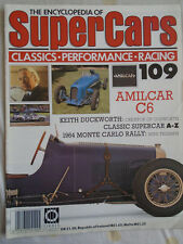 Encyclopedia of Super Cars 109 Amilcar C6