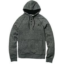 2016 NWT MENS ELEMENT MERIDIAN HENLEY HOODIE $50 M dark charcoal heather street