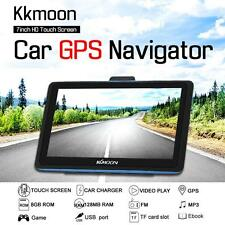 7inch HD Touch Screen Car Portable GPS Navigator 8GB MP3 Video Player Map U5H1