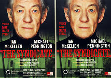 2 X IAN McKELLAN THE SYNDICATE THEATRE FLYERS