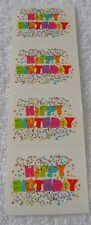 Mrs Grossman Full Strip EXPRESSIONS HAPPY BIRTHDAY Reflections Stickers