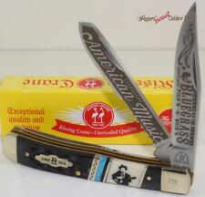 Kissing Crane Limited Edition 2016 Bluegrass Blues 2 Blade Trapper Pocket Knife