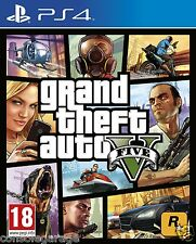 BRAND NEW  GTA GRAND THEFT AUTO V 5 PS4 INDIAN STOCK