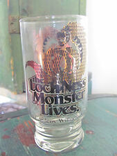 Vintage Busch Gardens The Loch Ness Monster Lives Drinking Glass Tumbler