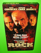 The Rock VHS Sean Connery Nicolas Cage Ed Harris 1998 Action Thriller