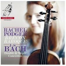 Bach: Double & Triple Concertos Super Audio Hybrid CD (CD, May-2013, Channel...