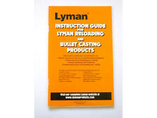 Lyman Reloading and Bullet Casting Instruction Guide   # 9837283   New!