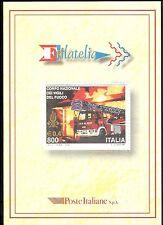 1999 ITALIA FOLDER VIGILI DEL FUOCO