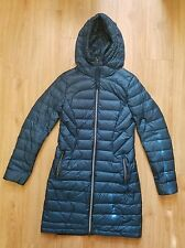 Lululemon *1X A LADY COAT* Alberta Lake, Teal 650 Fill Down, Size 4