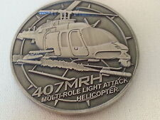 NorthStar Aviation 407MRH Multi-Role Light Attack Helicopter Challenge Coin NEW