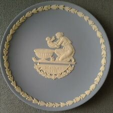 WEDGWOOD MOTHER'S DAY 1973 PLATE BLUE & WHITE JASPERWARE MOTHER 1973