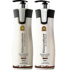 Color/Keratin Cure Safe Chocolate Max Shampoo & Conditioner Sulfate Free 960ml