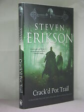 1st US,signed by author,Malazan Tale 4: Crack'd Pot Trail, Steven Erikson (2009)