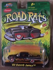 JADA Toys Diecast 1960 Chevy Impala 1:64 Adult Collectible Road Rats FlameDesign